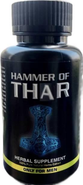 realveda Hammer of Thar Capsules for Men