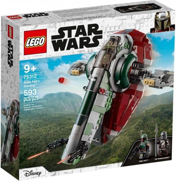 Mr. Fobu Fobu LEGO Star Wars 75312 Boba Fett's Starship 593pcs Age 9+