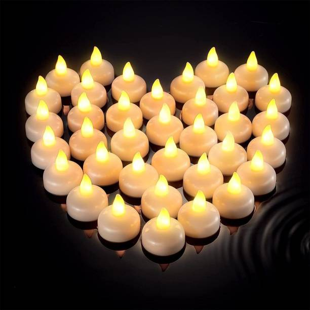 SHUANG YOU LED Candles Light Combo for Diwali Decoration | Decorative LED Candles for Home Decoration | Battery Operated Candle Lights (Set of 12, Color Changing LED Candle) Candle