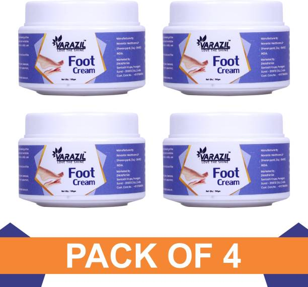VARAZIL Heel Rescue Foot Cream for Cracked, Calloused, or Chapped Skin