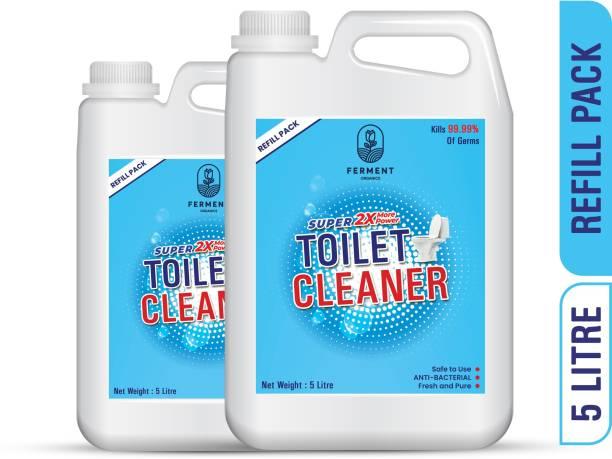 FERMENT Toilet Cleaner Liquid Blue 10 Ltr Original Liquid Toilet Cleaner