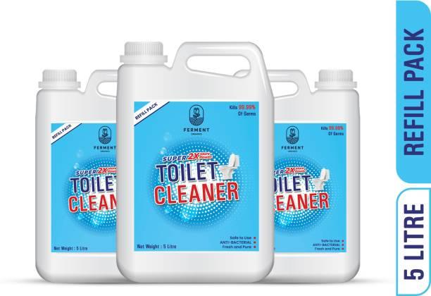 FERMENT Toilet Cleaner Liquid Blue 15 Ltr Original Liquid Toilet Cleaner