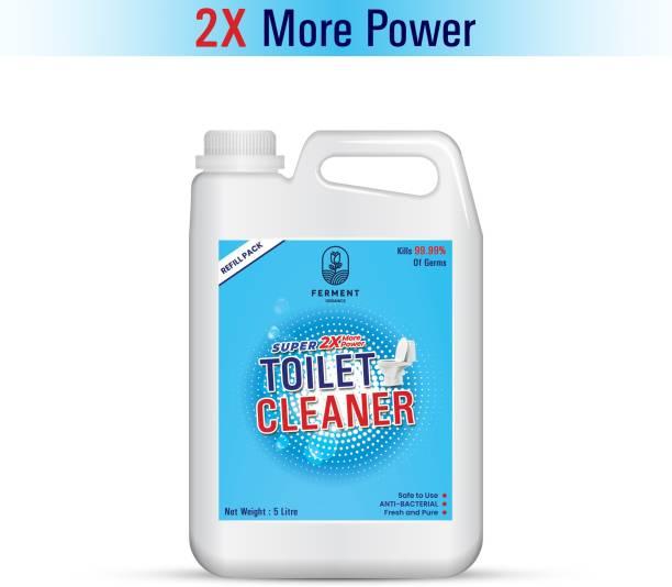 FERMENT Toilet Cleaner Liquid Blue 5 Liter Original Liquid Toilet Cleaner