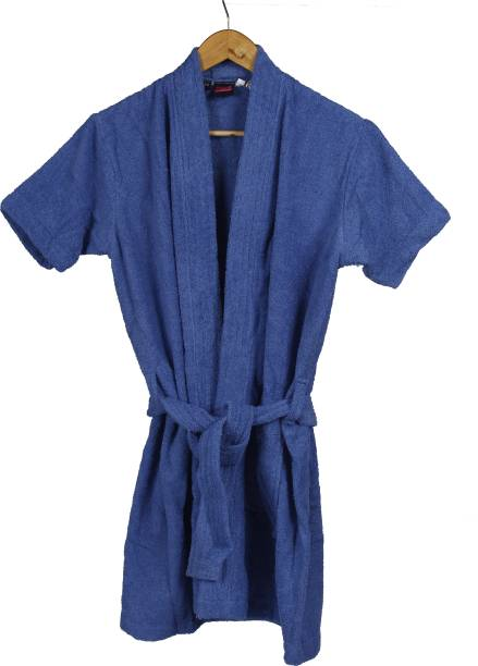 Gifts and Boxes Blue Large Bath Robe