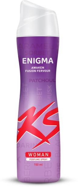 KS Woman Enigma Perfume Deodorant Spray  -  For Women