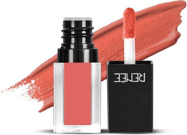 Renee Check Matte Liquid Lip Color - House of Coral