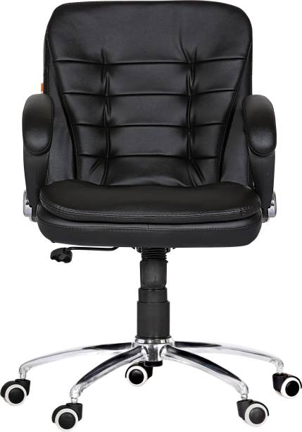 Da URBAN Milford Black Leather Office Executive Chair