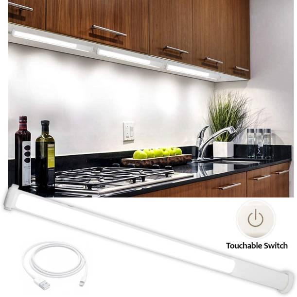 Pick Ur Needs Rechargeable LED Under Cabinet & Counter Kitchen Natural White Accent Lighting Touch Dimmable With Magnetic Holder Bulb Emergency Light