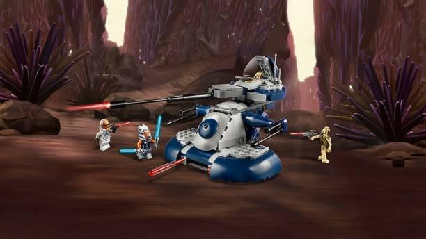 Mr. Fobu Fobu Star Wars Armored Assault Tank (Aat) 75283 Lego