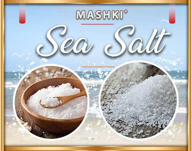 MASHKI Crystallized Sea Salt 100% Natural and Premium Quality Exotic Bath Salt For Muscle Relief, Skin Care, Hair Care And Multipurpose Salt