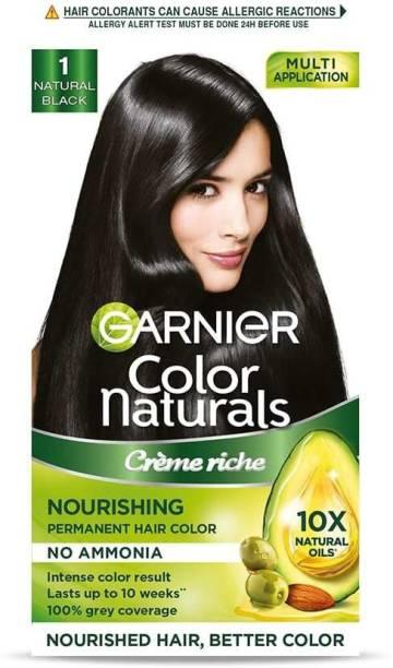 GARNIER Color Naturals Creme , Shade 1, Natural Black