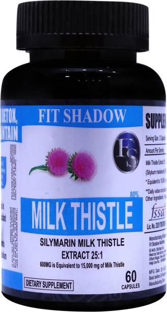 Fit Shadow Milk Thistle silymarin Milk Thistle Extract 25:1-600MG
