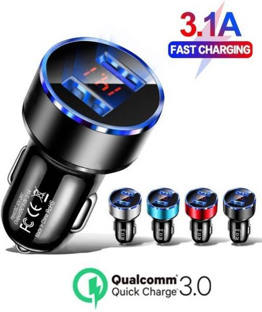 Intelligentiz 3.1 Amp Qualcomm Certified Turbo Car Charger