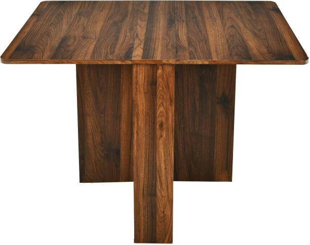 Old Wolf Furniture Engineered Wood 4 Seater Dining Table