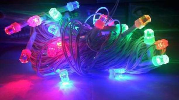 Glimmer Lightings 354.33 inch Multicolor Rice Lights