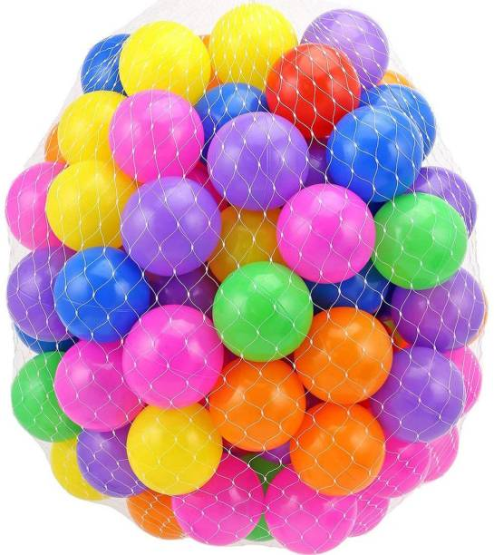 GoodLuck Baybee 24pcs Large Big Size Plastic Kids Pool Ball for Kids 8cm 24pcs Non Toxic Balls for Kids Big Size Bath Toy