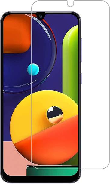 ISAAK Tempered Glass Guard for Samsung Galaxy A20, Samsung Galaxy A30, Samsung Galaxy A50, Samsung Galaxy A50s, Samsung Galaxy M30, Samsung Galaxy M30s, Samsung Galaxy M21, Samsung Galaxy M31, Samsung Galaxy F41