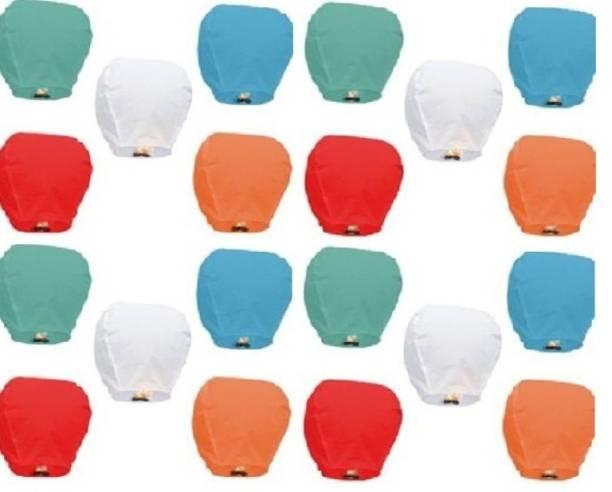 Celebration Ideas Multicolor Paper Sky Lantern