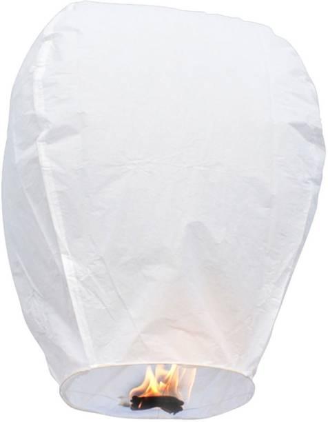 SantaStores White Paper Sky Lantern