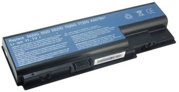 Rega IT Acer Aspire 5500 5520 5520G 5530 6 Cell Laptop Battery