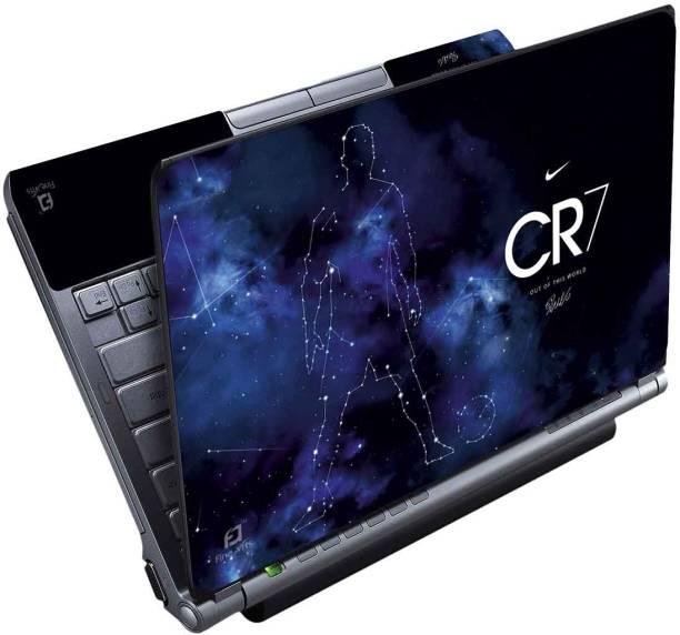 FineArts Ronaldo Cr7 Full Panel Vinyl Laptop Decal 15.6