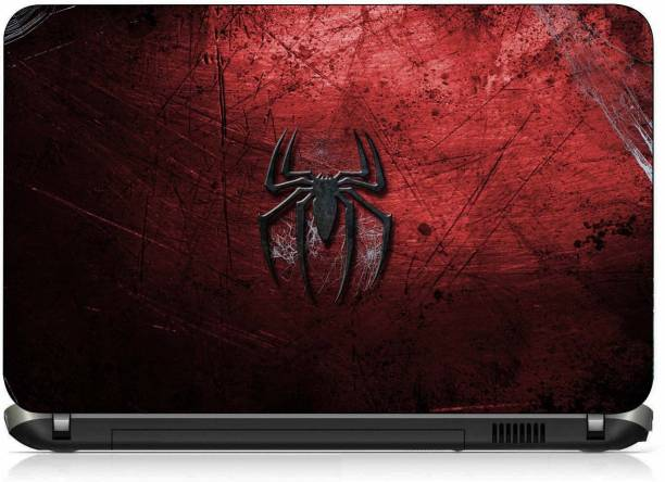 VI COLLECTIONS SPIDER RED ABSTRACT PVC (Polyvinyl Chloride) Laptop Decal 15.6