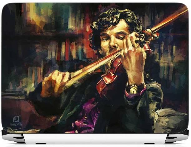 FineArts Sherlock Holmes Vinyl Laptop Decal 15.6