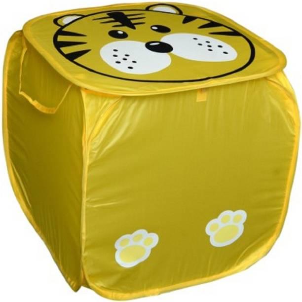 Amita Home Furnishing 20 L Yellow Laundry Bag
