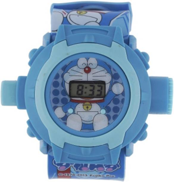 Vente Doremon Projector Digital Watch With 24 Images for Kids