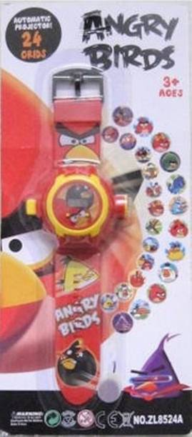 Parks Angry Bird 24 Images Projector Watch