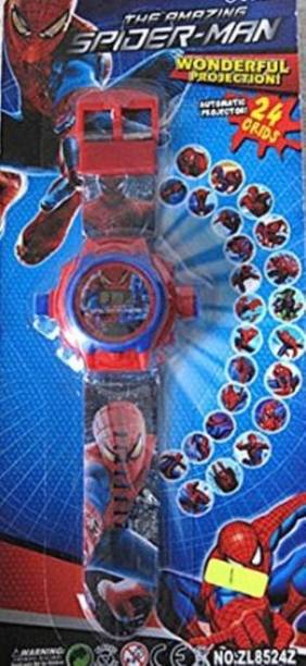 Parks Spiderman Projector Watch
