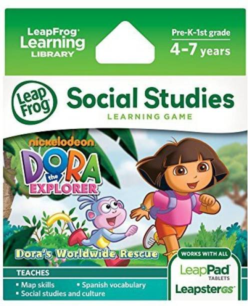 Dora The Explorer LeapFrog Learning Game Works With LeapPad Tablets And LeapsterGS