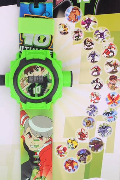 Chamunda Gifts Ben10 Projector Watch