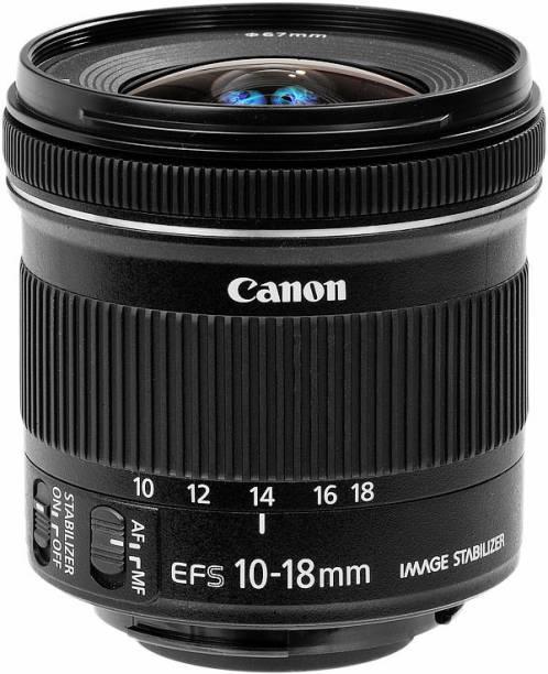 Canon EF S 10   18 mm f/4.5   5.6 IS STM Lens