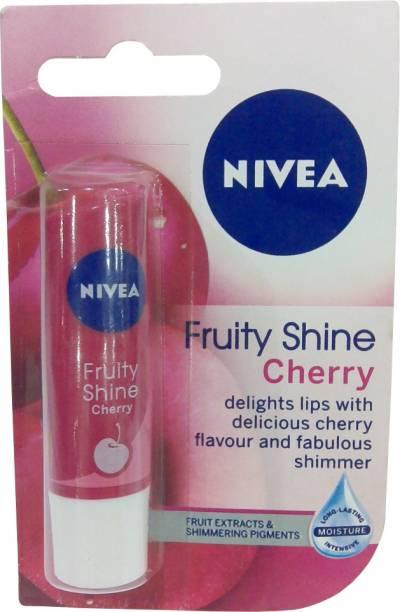 NIVEA Fruity Shine Cherry Lip Balm Cherry