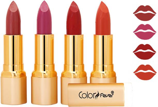 Color Fever Exclusive Long Lasting Intense Wear Matte Lipstick (Multicolor) 46