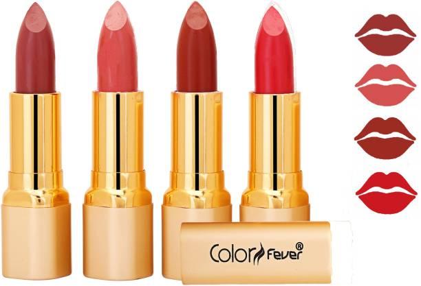 Color Fever Exclusive Long Lasting Intense Wear Matte Lipstick (Multicolor) 93