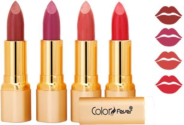 Color Fever Exclusive Long Lasting Intense Wear Matte Lipstick (Multicolor) 07