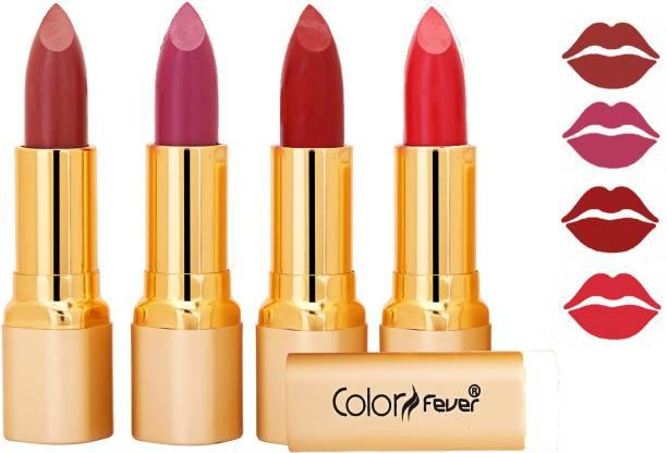 Color Fever Exclusive Long Lasting Intense Wear Matte Lipstick (Multicolor) 43