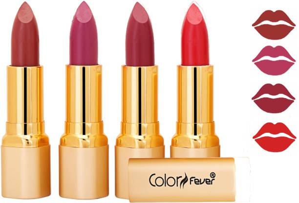 Color Fever Exclusive Long Lasting Intense Wear Matte Lipstick (Multicolor) 28