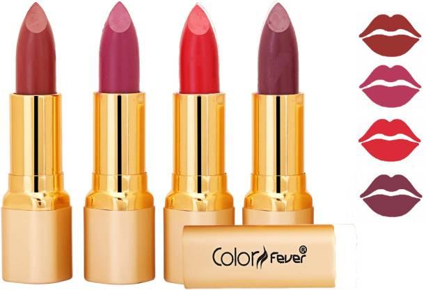Color Fever Exclusive Long Lasting Intense Wear Matte Lipstick (Multicolor) 49