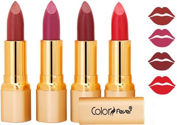Color Fever Exclusive Long Lasting Intense Wear Matte Lipstick (Multicolor) 18