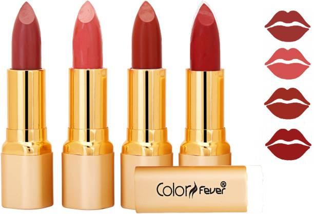 Color Fever Exclusive Long Lasting Intense Wear Matte Lipstick (Multicolor) 92