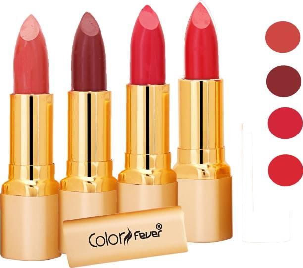 Color Fever Exclusive Long Lasting Intense Wear Matte Lipstick (Multicolor) 37