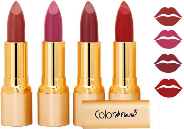 Color Fever Exclusive Long Lasting Intense Wear Matte Lipstick (Multicolor) 17