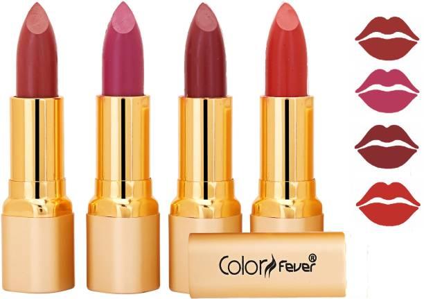 Color Fever Exclusive Long Lasting Intense Wear Matte Lipstick (Multicolor) 22