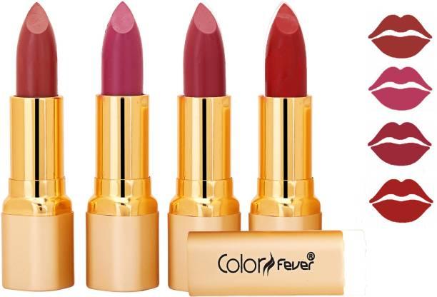 Color Fever Exclusive Long Lasting Intense Wear Matte Lipstick (Multicolor) 27