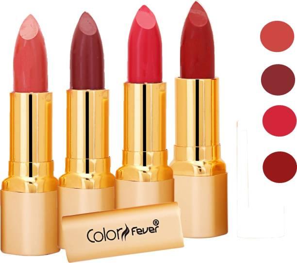 Color Fever Exclusive Long Lasting Intense Wear Matte Lipstick (Multicolor) 36