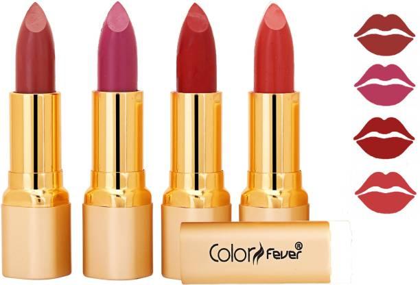 Color Fever Exclusive Long Lasting Intense Wear Matte Lipstick (Multicolor) 47