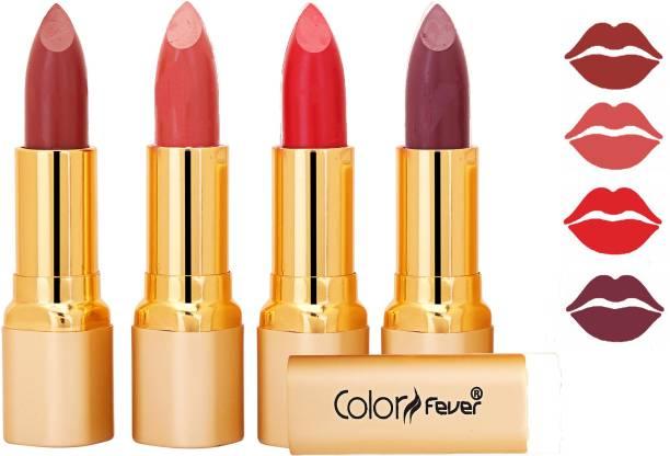 Color Fever Exclusive Long Lasting Intense Wear Matte Lipstick (Multicolor) 99